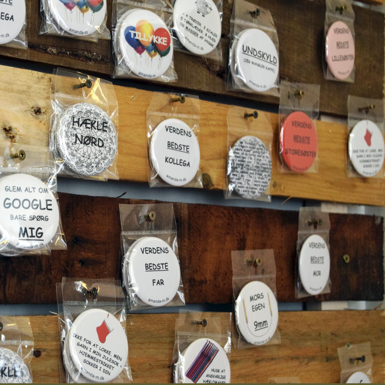 Apothekerfruens hjemmelavede humør-badges