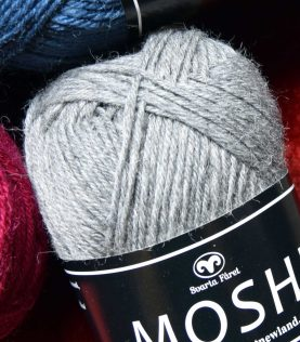 Moshi. Lækkert svensk uld fra firmaet Svarta Fåret